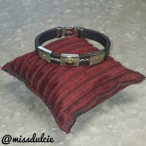 Unisex Stainless Steel Bracelet Cable Industrial